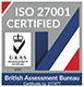 UKAS ISO 27001 Certification